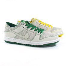 Nike SB Zoom Dunk Low Pro Deconstructed QS Ishod Wair Shoes - White/White-Aloe Verde-Tour Yellow