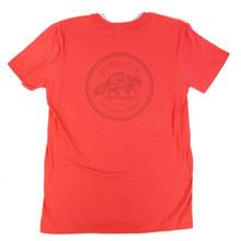 DCS Raccoon Logo Summer Bummer T-Shirt - Coral