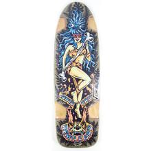 "Santa Cruz Remillard Cave Babe Old Skateboard Deck - 9.5"""