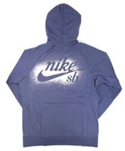 Nike SB XLM Icon Hooded Sweatshirt - Obsidian/White