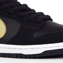 Nike SB Zoom Dunk Low Pro (Takashi) Shoes - Black/Metallic Gold- White