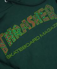 Thrasher Davis Hooded Sweatshirt - Forest Green