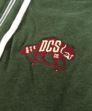 DCS Embroidered Logo Hooded Sweatshirt - Olive Heather