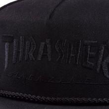 Thrasher Rope Snapback Hat - Black