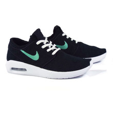 Nike SB Janoski Air Max 2 Shoes - Black/Mint-Black