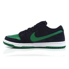Nike SB Dunk Low Pro Shoes - Black/Pine Green-Black-White