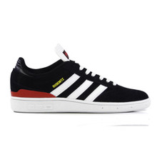 Adidas Busenitz Shoes - Core Black/Cloud White /Scarlet