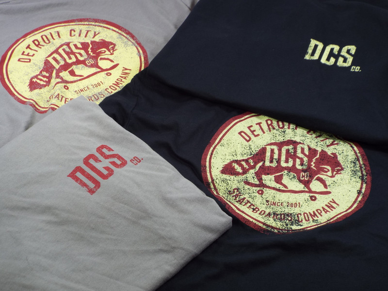New DCS/co. Raccoon Distressed Logo T-Shirt are here! YEAHHHH BABY...