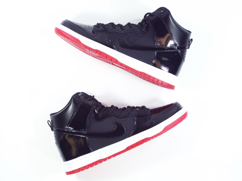 Nike SB Rivals Pack. The Dunk High Bred colorway drops now!