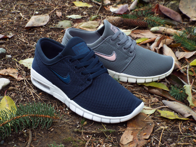 Two new colorways of the Nike SB Stefan Janoski Max shoe is here!
