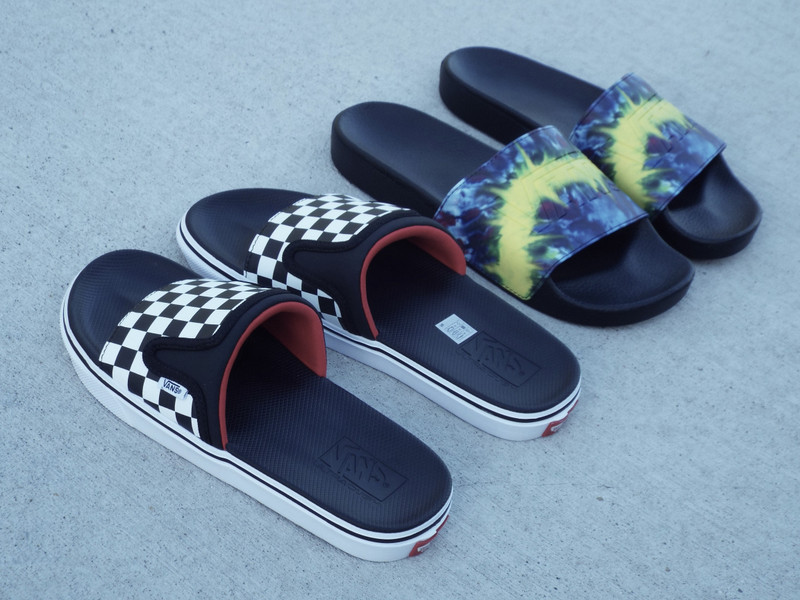 Vans Summer Slides are here for the summertime fun!
