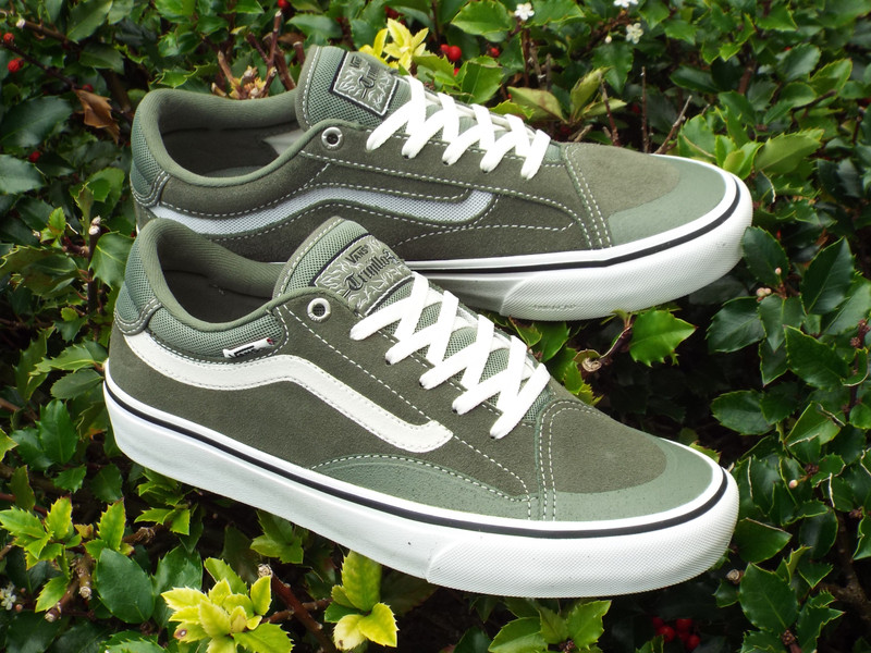 Vans TNT Advanced Prototype Shoes  in Green/Marshmallow drops now.
