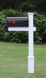 Homestead Mailbox with New England Cap