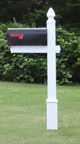 Homestead Mailbox with Gothic Cap