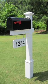 Fitzgerald Mailbox with Princeton Cap