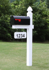 Loudon Mailbox with Gothic Cap