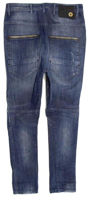 6a589fc52fb ... G-Star Dean Drop Crotch Mens Blue Loose Jeans W27 L32 image 3 ...