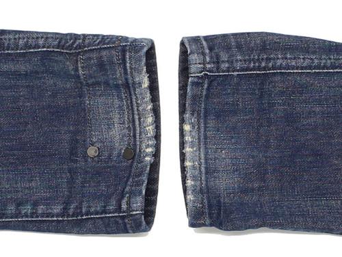 b1d5243b78d ... G-Star Dean Drop Crotch Mens Blue Loose Jeans W27 L32 image 5 ...