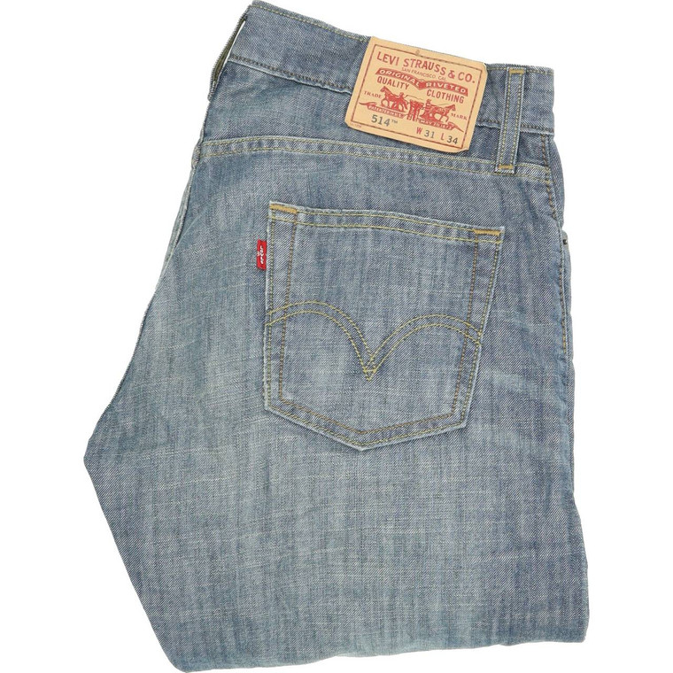 Levi's 514 Straight Slim W31 L34 Jeans in Very good used condition. Fast & Free UK Delivery. Buy with confidence from Fabb Fashion. image 1