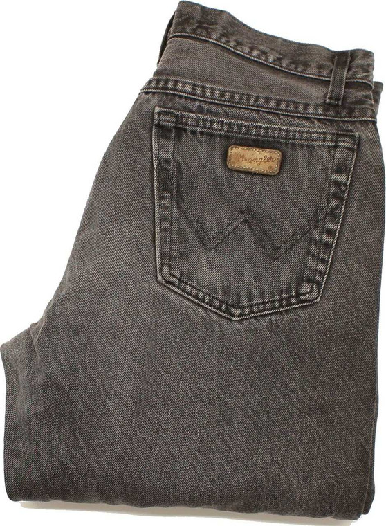 Wrangler Indiana Mens Grey Straight Jeans W32 L33 image 1