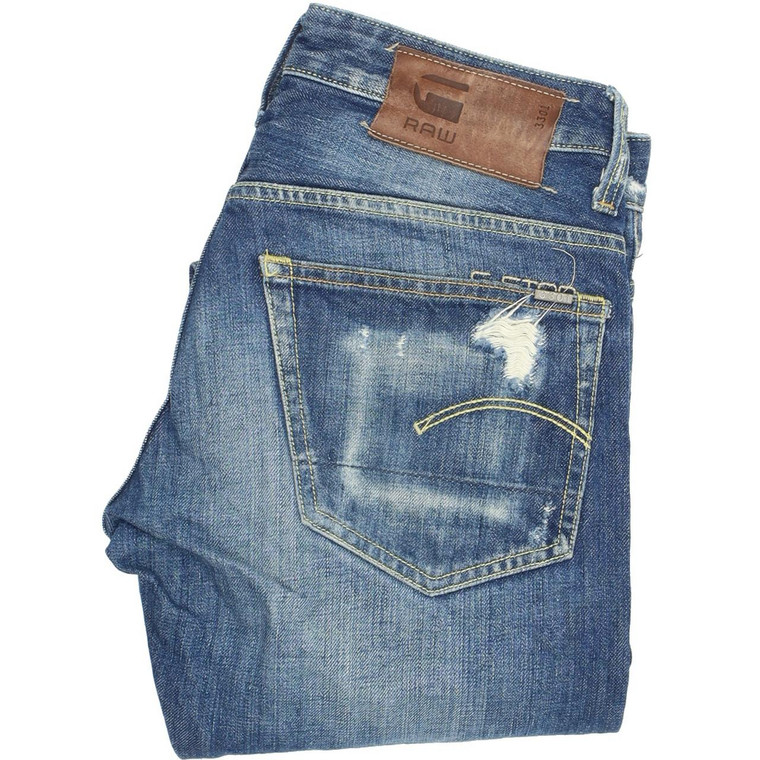 G-Star 3301 Selvedge Tapered Regular W29 L32 Jeans in Very good used condition. Fast & Free UK Delivery. Buy with confidence from Fabb Fashion. image 1