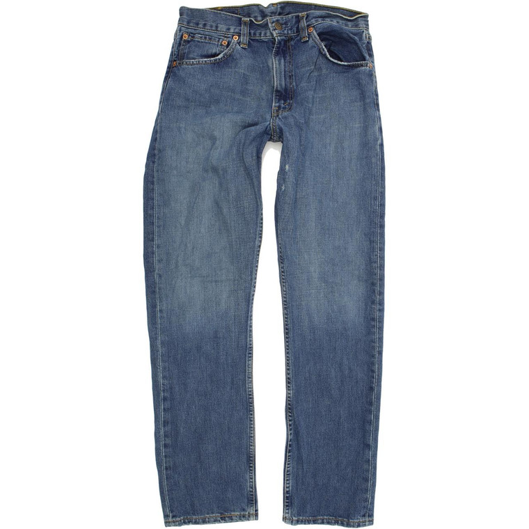 Levi's 505 Straight Regular W31 L32 Jeans in Good used conditionplease note the back left pocket is missing. Fast & Free UK Delivery. Buy with confidence from Fabb Fashion. image 1