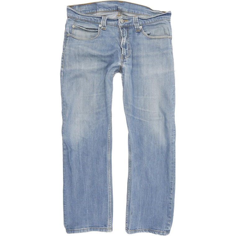 Levi's 506 Straight Regular W34 L29 Jeans in Good used conditionwith few small marks to the legs, the legs measures less than the label suggests. Fast & Free UK Delivery. Buy with confidence from Fabb Fashion. image 1