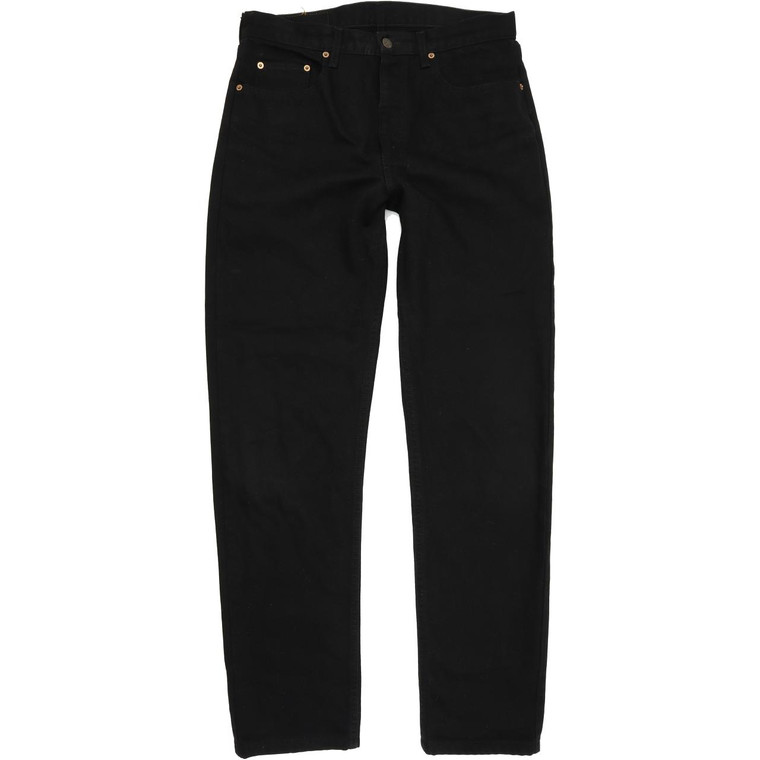 Levi's 615 Men Black Straight Regular Jeans W34 L34 (54174)