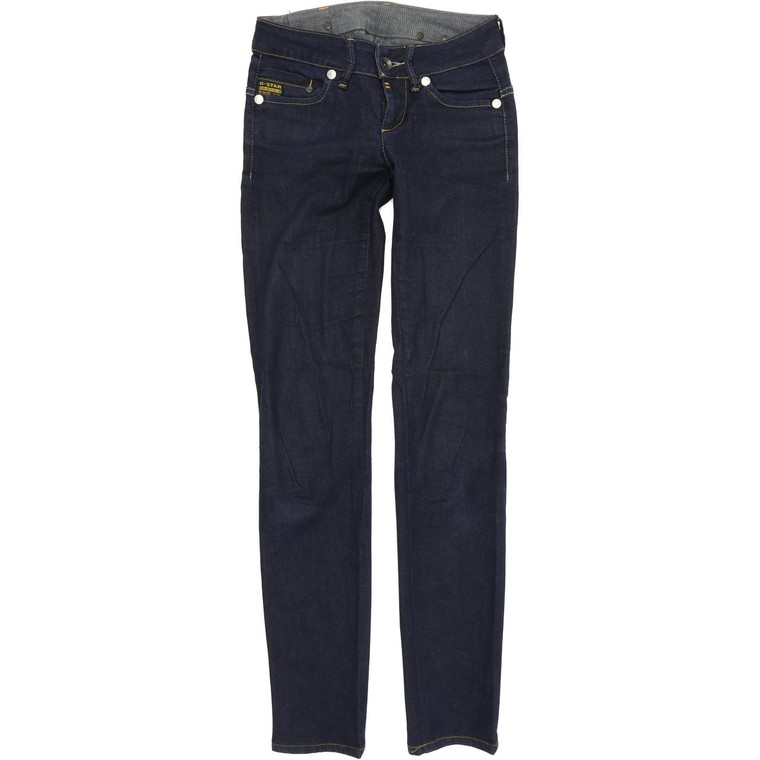 G-Star Midge Straight Slim W25 L32 Jeans in Good used conditionplease note the legs have been taken in they are slim legs now . Fast & Free UK Delivery. Buy with confidence from Fabb Fashion. image 1