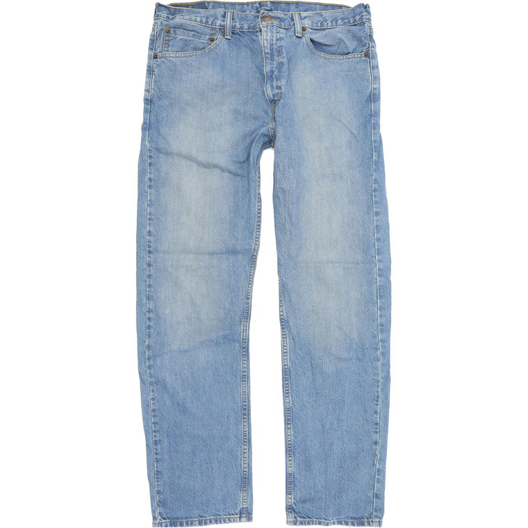 Levi's 505 Straight Regular W36 L34 Jeans in Good used conditionwith some wear. Fast & Free UK Delivery. Buy with confidence from Fabb Fashion. image 1