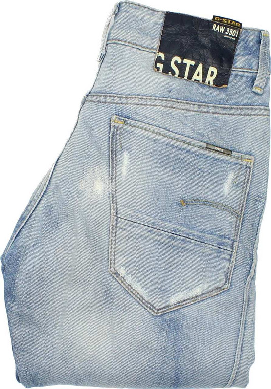 G-Star Arc Mens Blue Tapered Jeans W26 L32 image 1