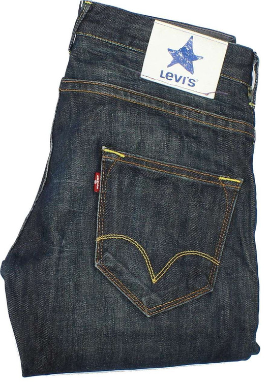 Levi's 5000 Mens Blue Straight Jeans W30 L30 image 1