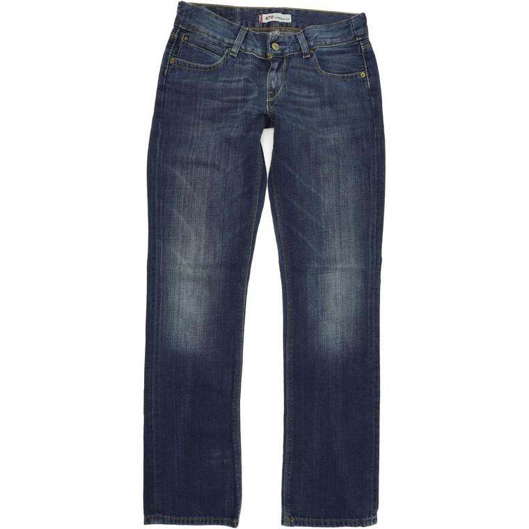 Levi's 470 Straight Regular W28 L32 Jeans in Very good used condition. Fast & Free UK Delivery. Buy with confidence from Fabb Fashion. image 1