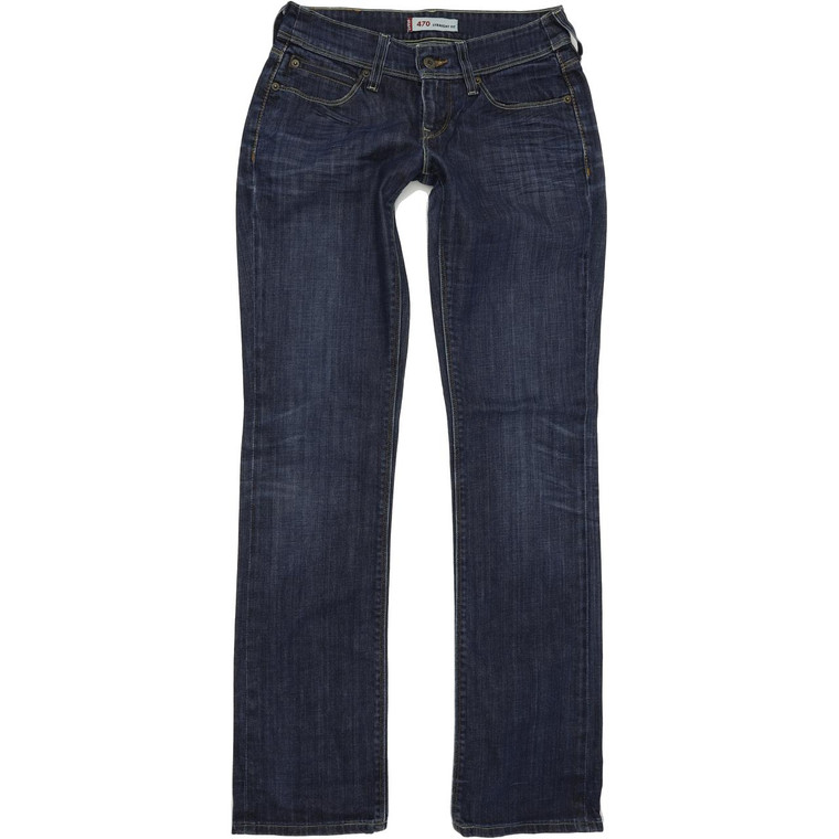 Levi's 470 Straight Regular W29 L34 Jeans in Good used conditionwith little wear to the crotch. Fast & Free UK Delivery. Buy with confidence from Fabb Fashion. image 1