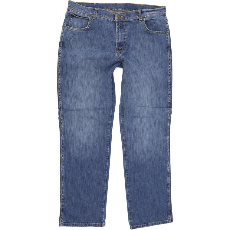 Wrangler Men Blue Straight Regular Jeans W36 L32 (60072)