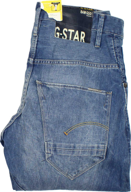 G-Star Arc 3D Mens Blue Loose, Tapered Jeans W28 L32 image 1