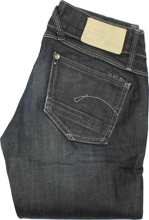 G-Star Lynn Womens Blue Skinny & Slim Stretch Jeans W25 L32 image 1