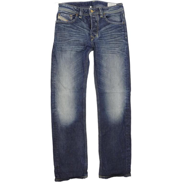 Diesel Larkee 008MD Men Blue Straight Regular Jeans W28 L32 (69977)