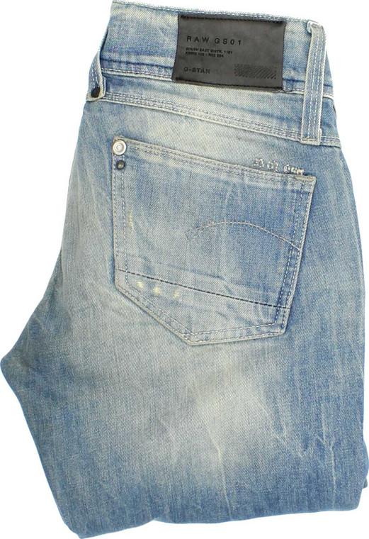 G-Star Lynn Womens Blue Skinny & Slim Stretch Jeans W25 L34   Fabb Fashion image 1