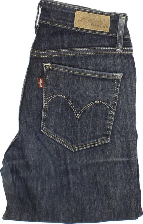 Levi's Demi Curve Womens Blue Skinny & Slim Stretch Jeans W25 L32 | Fabb Fashion image 1