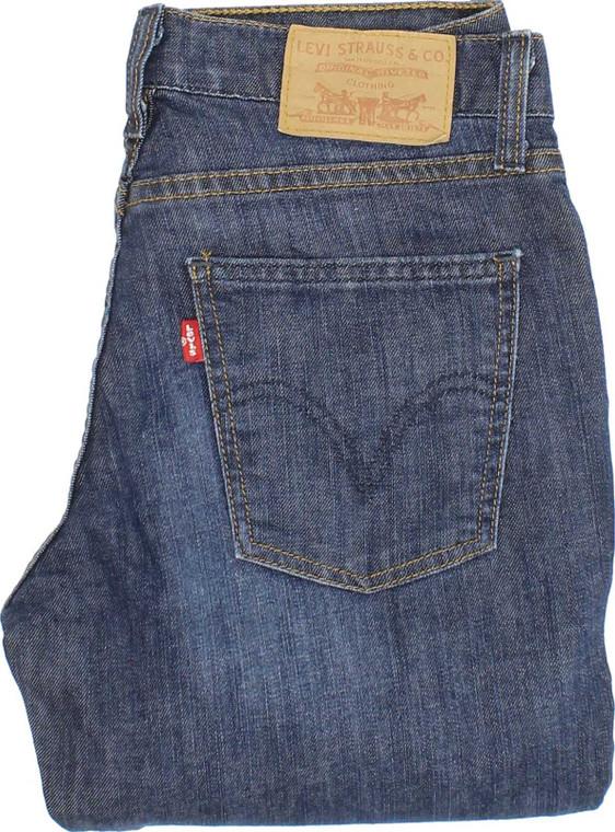 Levi's 529 Womens Blue Bootcut Stretch Jeans W29 L33 | Fabb Fashion image 1