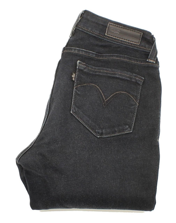 Levi's Womens Blue Skinny & Slim Stretch Jeans W28 L32 image 1