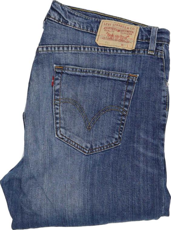 Levi's 751 Men Blue Straight Regular Jeans W36 L30 | Fabb Fashion image 1