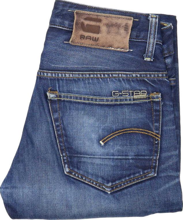 G-Star 3301 Men Blue Tapered Regular Jeans W29 L29 | Fabb Fashion image 1