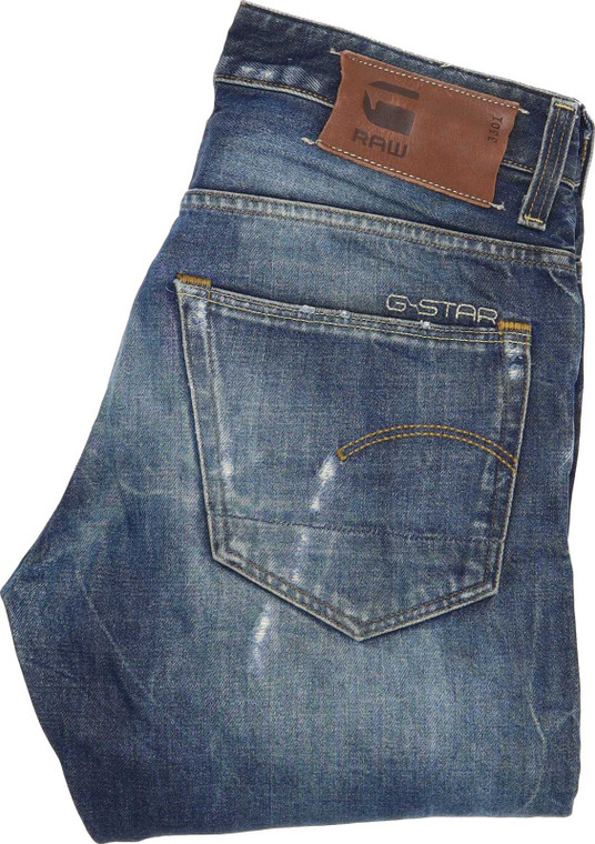 G-Star 3301 Tapered Regular W30 L34 Jeans in Good used condition. Fast & Free UK Delivery. Buy with confidence from Fabb Fashion. image 1