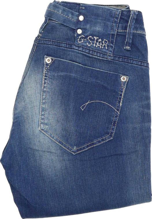 """G-Star Midge Bootcut Regular W29 L33 Jeans in Very good used condition please note the legs have been shortened to 33"""". Fast & Free UK Delivery. Buy with confidence from Fabb Fashion. image 1"""