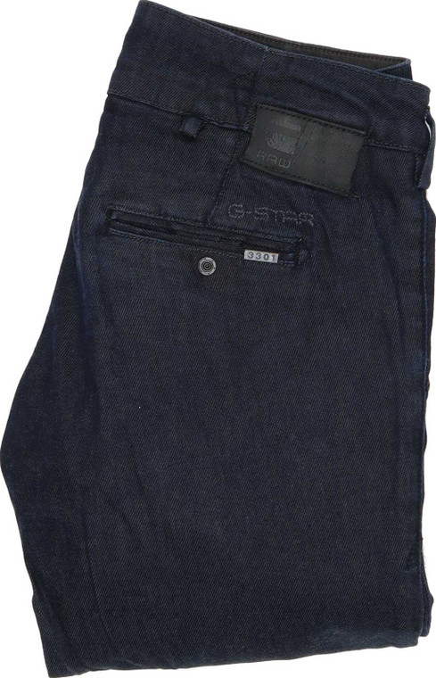 G-Star 3301 Bell Cut Bootcut Regular W27 L32 Jeans in Very good used condition. Fast & Free UK Delivery. Buy with confidence from Fabb Fashion. image 1