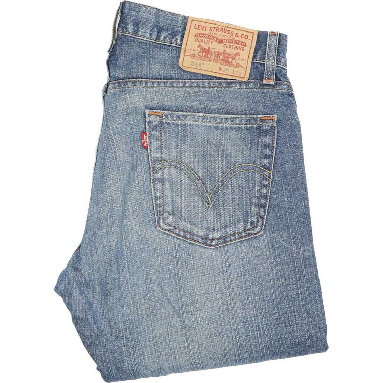 Levi's 514 Straight Slim W29 L32 Jeans in Good used condition with few marks to the legs . Fast & Free UK Delivery. Buy with confidence from Fabb Fashion. image 1