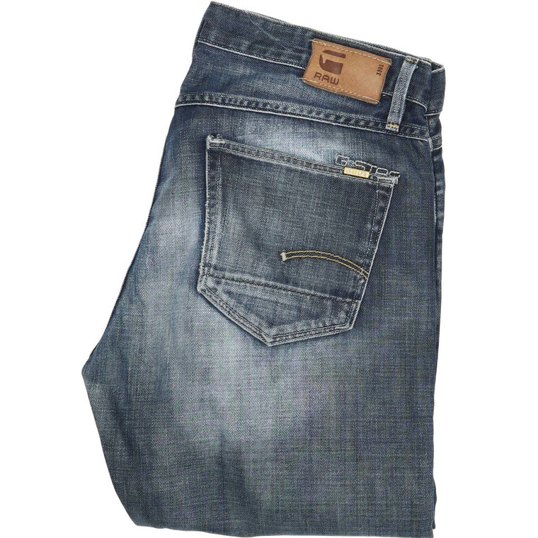 G-Star 3301 Correct Bootcut Regular W30 L34 Jeans in Good used condition with some wear to the crotch. Fast & Free UK Delivery. Buy with confidence from Fabb Fashion. image 1