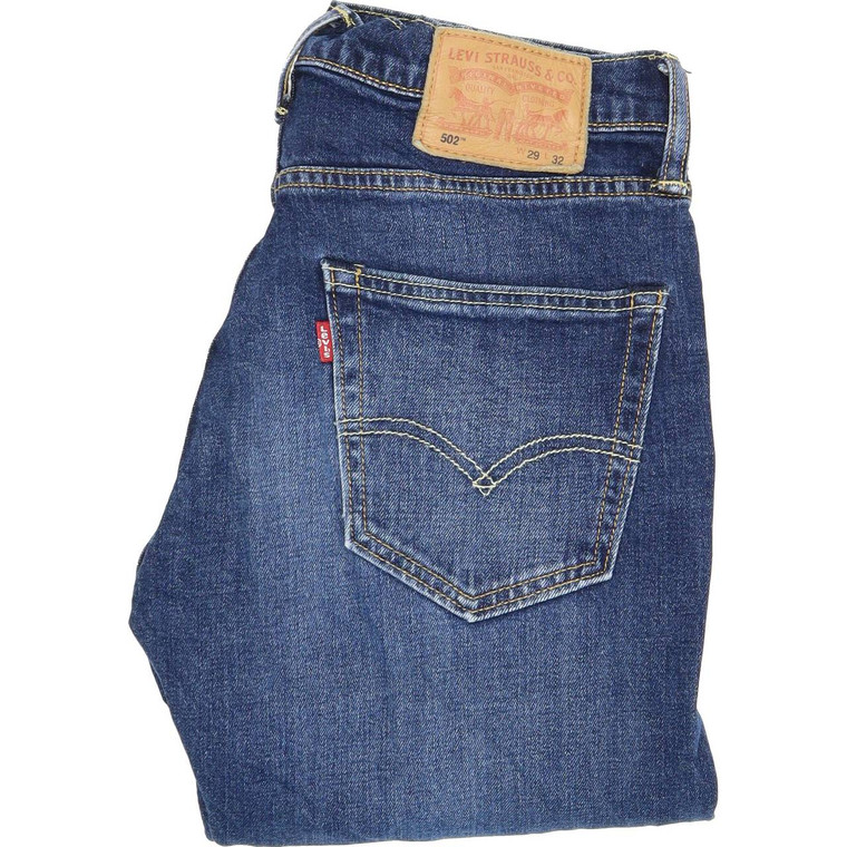 Levi's 502 Skinny Slim W29 L32 Jeans in Very good used condition. Fast & Free UK Delivery. Buy with confidence from Fabb Fashion. image 1